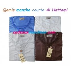 Qamis manche courte Al Hattami