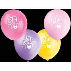 "4 Ballons ""it's a girl"" ou..."