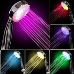 Pommeau de douche LED