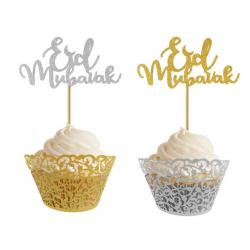 Pique Eid Mubarak pour gateaux