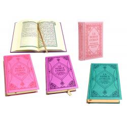 Coran couverture en couleur