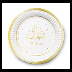 "Assiettes à dessert ""Mubarak"""