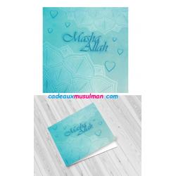 Carte de voeux Aqiqa naissance
