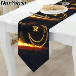 """Chemin de table """"Ramadan..."""