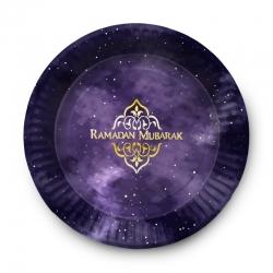 """Assiette """"Ramadan Mubarak"""""""