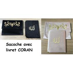 Sacoche avec livret Coran