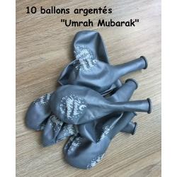 """Ballons """"Umrah Mubarak"""""""
