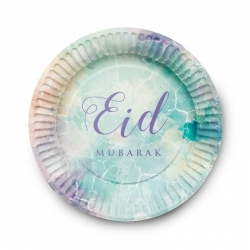 """Assiettes en carton """"Eid..."""