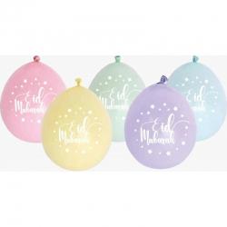 Ballon Eid Mubarak Pastel