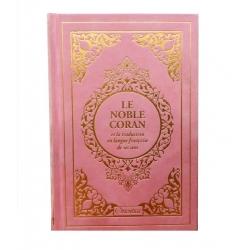 Coran Arabe/Français rose...