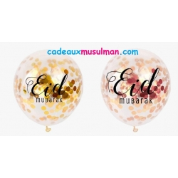 "Ballon confetti ""Eid mubarak"""