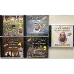 CD MP3 Coran complet