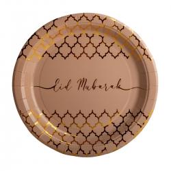 Assiettes Quadrilobe Or Eid...