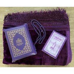 Pack Coran arc en ciel violet