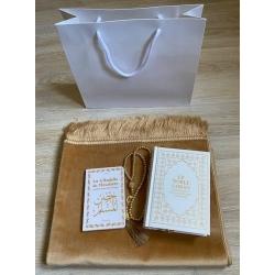 Pack Coran doré/blanc