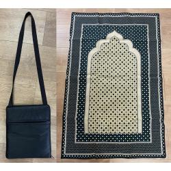 tapis de priere en bandoulière