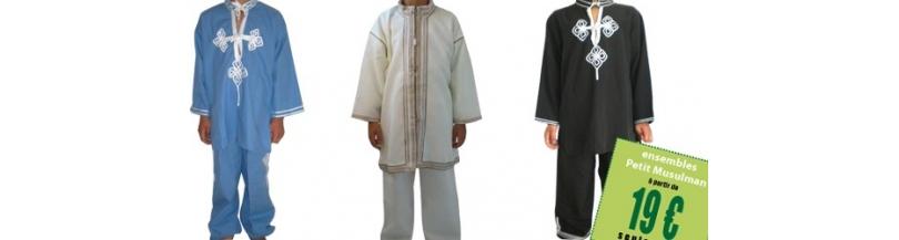 Qamis, vêtement islamique Garçons
